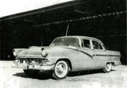 1956 Ford Fairlane 4-door Sedan
